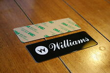 Williams Coin Door Aluminum Plate (adhesive backed)