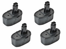 4X 18V 3.0AH NiMH Battery for DEWALT DE9503 DW9096 DW9098 18 VOLT Cordless Tool