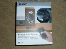 BELKIN BLUETOOTH MUSIC RECEIVER WIRELESS SPEAKER ADAPTER to HiFi Streamer F8Z492