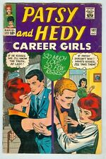 Patsy and Hedy #102 October 1965 G 2 pages paper dolls