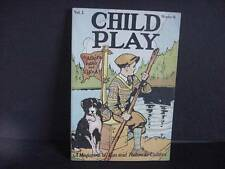 Vintage CHILD PLAY Mag-October 1926-Magazine of Fun and Fiction for Children