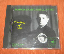 "Marco Tamburini Quartet CD "" THINKING OF YOU "" Penta Flowers"