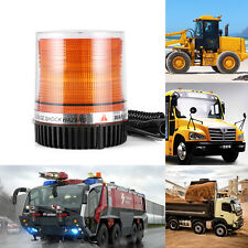 10 LED Emergency Vehicle Magnetic Flash and Rotating Beacon Warning Light Amber