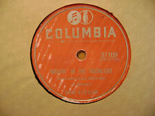 COLUMBIA 78 RECORD 21109/DON GIBSON/WALKIN IN MOONLIGHT/THE WAY YOU TELL  LIE/VG