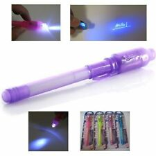 UV Light Pen Invisible Ink Security Marker & Built in Ultra Violet LED Light