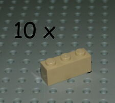LEGO 10x Basic Stein 3622 1x3 1 x 3 Tan beige Sand Basis Brick Star Wars 3622Tan