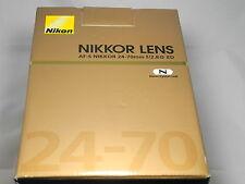 Nikon AF-S 24-70 2,8 ED Nikkor NEU mit OVP