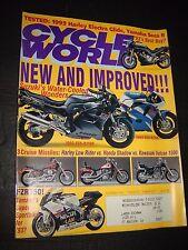 CYCLE WORLD MAGAZINE NOV/1992...SUZUKI'S WATER-COOLED WONDERS: GSX R1100