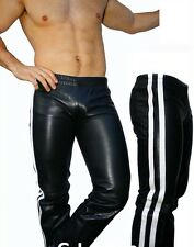 GLS Cuir jogging cuir doublure pantalon cuir Cuir pantalon Leather Gay * L * 029
