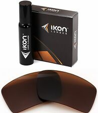 Polarized IKON Replacement Lenses For Oakley Eyepatch 1 Sunglasses - Bronze