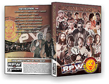 Official RPW / NJPW Global Wars UK 2015 Event DVD (New Japan Pro Wrestling)