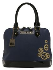 Doctor Who Navy Tardis Police Call Box Satchel Hand Bag Purse Dr New With Tags!