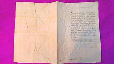 DOCUMENTO GUERRA DE INDEPENDENCIA 11 MAYO 1808,DUQUE DE BERG, JOSE JOAQUIN MARTI