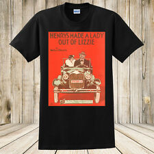 New Henry's Made a Lady Out of Lizzie 1928 Sheet Music T-Shirt Ford Automobile