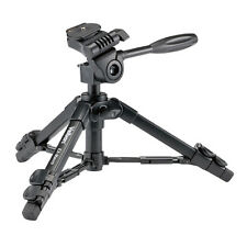 NEW Velbon EX-Macro Table Top Mini Tripod 3 Section w/ Case for DSLR SLR Camera