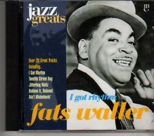 (DF36) Jazz Greats No 007 CD, Fats Waller