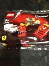LEGO 30196 Ferrari F1 Pit Crew Shell V Power Exclusive Brand New UK Stock