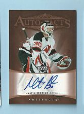 MARTIN BRODUER 2005/06 UD ARTIFACTS AUTO-FACTS AUTOGRAPH AUTO /75