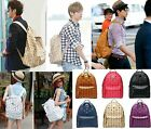 HOT SALE ! EXO TVXQ LUHAN LAY G-DRAGON GD SCHOOLBAG BACKPACK KPOP BAG