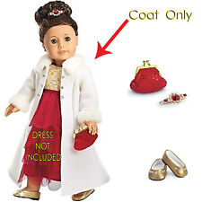 American Girl MY AG RUBY BALL GOWN  SET 4 PC NO DRESS for Dolls Shoes Clutch