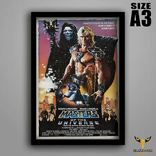 Masters of the Universe Framed A3 Poster