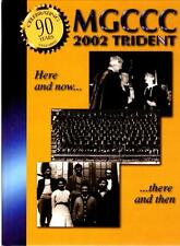 Mississippi Gulf Coast Community College Trident 2002 Yearbook Annual