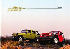 Jeep - Wrangler - Prospekt - 08/2007 - Deutsch - nl-Versandhandel