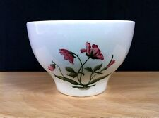 Wedgwood China MAYFIELD RUBY Red  FOOTED Cream Soup BOWL England EUC!
