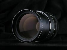 Pentacon 135mm MC electric f2.8 M42 lens, made in GDR, late serial (135/2.8)