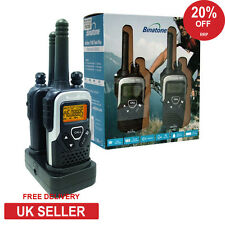 10km Binatone Action 1100 Walkie Talkie 2 Two Way Radio PMR 446 NEW