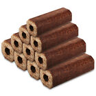 Mechanically Pressed Eco Fire Heatlogs Wood Briquettes Fuel Heat Firewood Logs