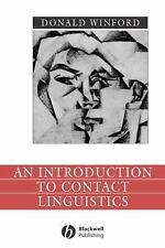Language in Society: An Introduction to Contact Linguistics by Donald Winford...