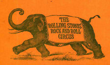ROLLING STONES REPRO 1968 ROCK AND ROLL CIRCUS CONCERT TICKET . NOT CD DVD