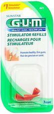 GUM Stimulator Refills [601] 3 Each (Pack of 5)