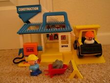 Fisher Price Little People Construction Set 1990 Complete