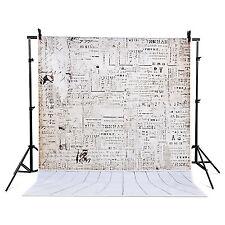 210cm x 150cm Hintergrund Chromakey Fotohintergrund Holzwand Zeitung▲