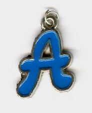 """""""A"""" enamel letter charm or pendant. For your special 1!"""