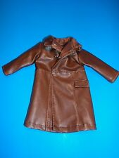 "1/6 Scale Light Brown Leather Trench Coat for all 12"" Figure"