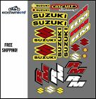 Sticker/Decal set for Suzuki RM80 RM85 RM125 RM250