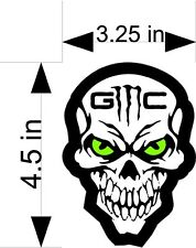 GMC SCULL car & truck vehicle decals/stickers