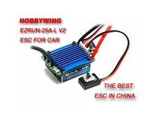 Hobbywing Genuine EZRUN-25A-SL-L Brushless ESC RC 1/18 Car V2 25ampere speed CT