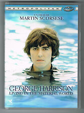 GEORGE HARRISON - LIVING IN THE MATERIAL WORLD - 2011 - DVD TRÈS BON ÉTAT