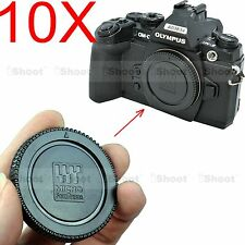 10x Body Cover Cap fr Olympus Micro Four Thirds PEN E P1 P2 P3 P5 PM1 PM5 Camera