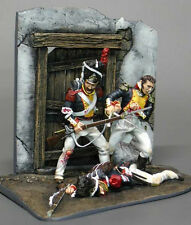 54mm M MODEL 32081 THE DEATH OF COLONEL S. MALCZEWSKI - LEIPZIG 1813