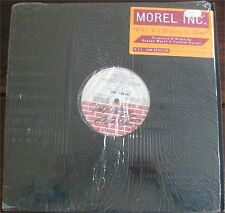 "Morel Inc. why not believe in him, strictly rhythm, ex/ex 12"" maxi single 7562"