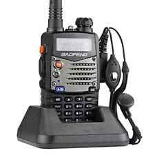 Baofeng UV5RA Ham Two Way Radio 136-174/400-480 MHz Dual-Band Transceiver (Black