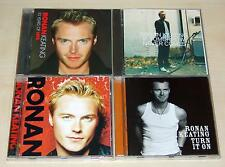 4 CD SAMMLUNG - RONAN KEATING - IF TOMORROW NEVER COMES TURN IT ON 10 YEARS HITS