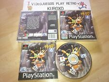 PLAY STATION PS1 PSX HUGO 2 COMPLETO PAL ESPAÑA