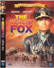 The Desert Fox: The Story Of Rommel (1951) New Sealed DVD James Mason