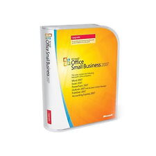 MICROSOFT OFFICE SMALL BUSINESS 2007 UPGRADE WORD EXCEL POWERPOINT PUBLISHER +++